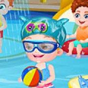 Игра Игра Малышка Хейзел в аквапарке