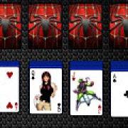 Игра Игра Пасьянс Спайдермен