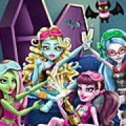 Игра Игра Монстр Хай: пижамная вечеринка