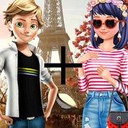 Игра Игра Леди Баг: парижская мода Маринетт