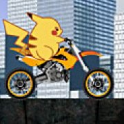 Игра Игра Путешествие Пикачу на мотоцикле