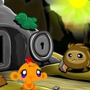 Игра Игра Счастливая обезьянка: Уровень 424