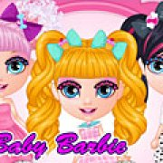 Игра Игра Малышка Барби попс костюмы