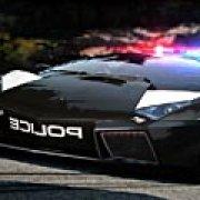 Игра Игра Полицейские авто: скрытые буквы