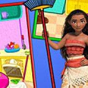 Игра Игра Моана: уборка на кухне