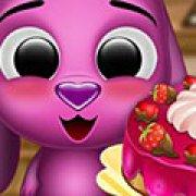 Игра Игра Тото готовит торт
