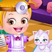 Игра Игра Одевалка: Малышка Хейзел ветеринар