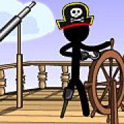 Игра Игра Стикмен пиратский корабль