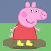 Игра Игра Свинка Пеппа лужи