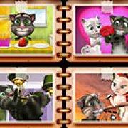 Игра Игра Говорящий Том: пазлы