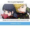 Игра Игра Тест: Кто Ты Для Адриана?