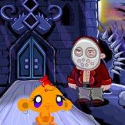 Игра Игра Счастливая обезьянка: Уровень 472 Хэллоуин Дом