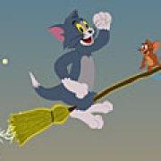 Игра Игра Том и Джери на метле