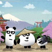 Игра Игра 3 панды в Японии