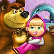 Игра Игра Маша и Медведь игрушки