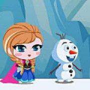 Игра Игра Холодное сердце: Анна и Олаф спасают Эльзу