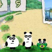 Игра Игра 3 панды в Бразилии