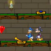 Игра Игра Огонь и Вода: Микки и Дональд