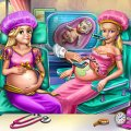 Игра Игра Барби и Рапунцель беременные принцессы