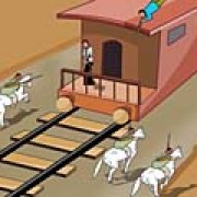Игра Игра Перестрелка в поезде