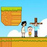Игра Игра На двоих: мама и сын спасают отца