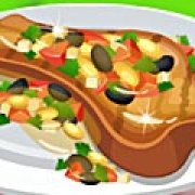 Игра Игра Барбекю из телятины с помидорами
