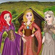 Игра Игра Принцессы Диснея: игра престолов