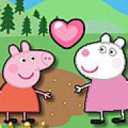 Игра Игра Свинка Пеппа поцелуи