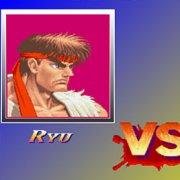 Игра Игра Уличный боец 2: Рю против Сагата