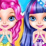 Игра Игра Малышка Барби костюмы Эквестрии