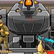 Игра Игра Рэмбо: уничтожение робота