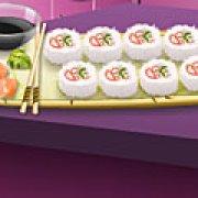 Игра Игра Кухня Сары калифорнийские роллы