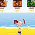 Игра Игра Финес и Ферб: пляжный спорт