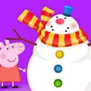 Игра Игра Свинка Пеппа: Новый год