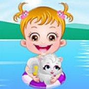 Игра Игра Малышка Хейзел в СПА ванной