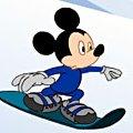 Игра Игра Микки-сноубордист
