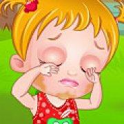 Игра Игра Малышка Хейзел лечит глаза