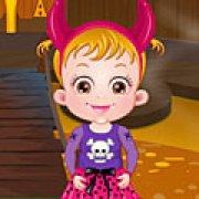 Игра Игра Малышка Хейзел в Хэллоуин замке