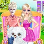 Игра Игра Новые для девочек: Пушистый Пес Эльзы