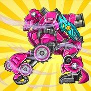 Игра Игра Роботы Динозавры: Собирать Супер Роботов
