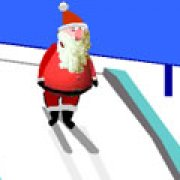 Игра Игра Лыжные прыжки Санты