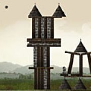 Игра Игра Разрушение замка: полные уровни