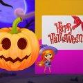 Игра Игра Счастливый Хэллоуин Принцесс: Дизайн Открыток