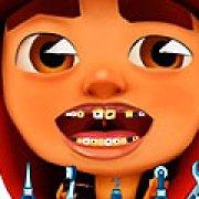 Игра Игра Сабвей серф лечит зубы