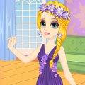 Игра Игра Рапунцель любит фиолетовые платья