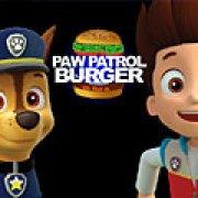 Игра Игра Щенячий патруль: готовить бургер