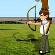 Игра Игра Бен 10: большой лук