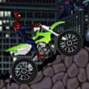 Игра Игра Человек паук на мотоцикле: вызов