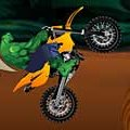 Игра Игра Халк: езда по тропе