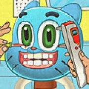 Игра Игра Гамбол лечить глаза
